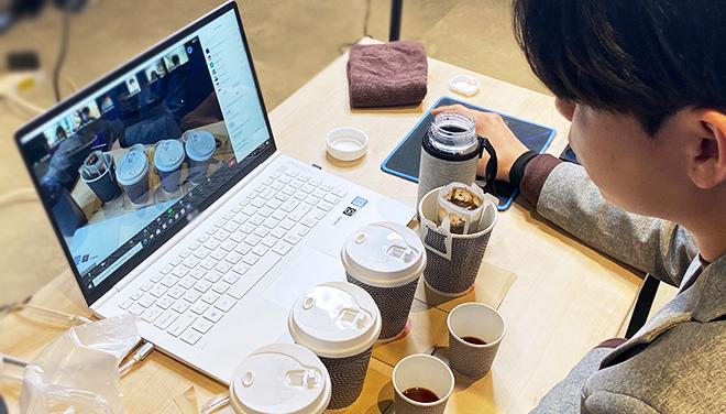 커피 테이스팅 LIVE 결과물 | 이너트립