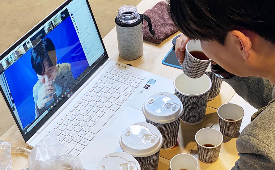 커피 테이스팅 LIVE 진행사진 01 | 이너트립