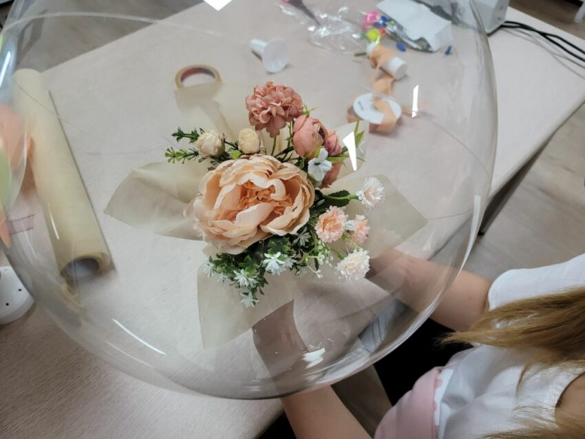 flower ballon 15   이너트립