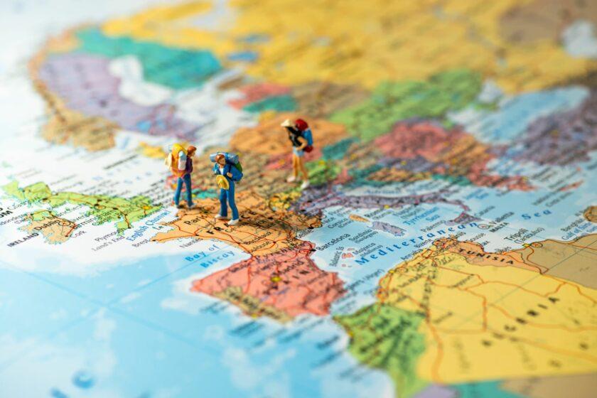 여행자를 위한 세계지도 읽기
